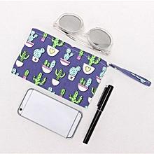bluerdream-Girls Cute  Fashion Print Coin Purse Wallet Bag Change Pouch Key Holder PP-purple