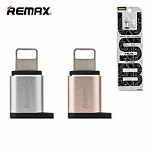 Remax RA-USB2 Lightning To Micro USB Adapter Connector For iOS DIOKKC