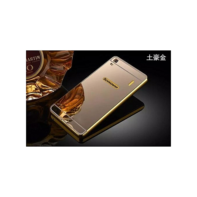 uk availability 71c94 81f63 Metal Frame Mirror Back Cover Case For Lenovo K3 Note (Color:c1)