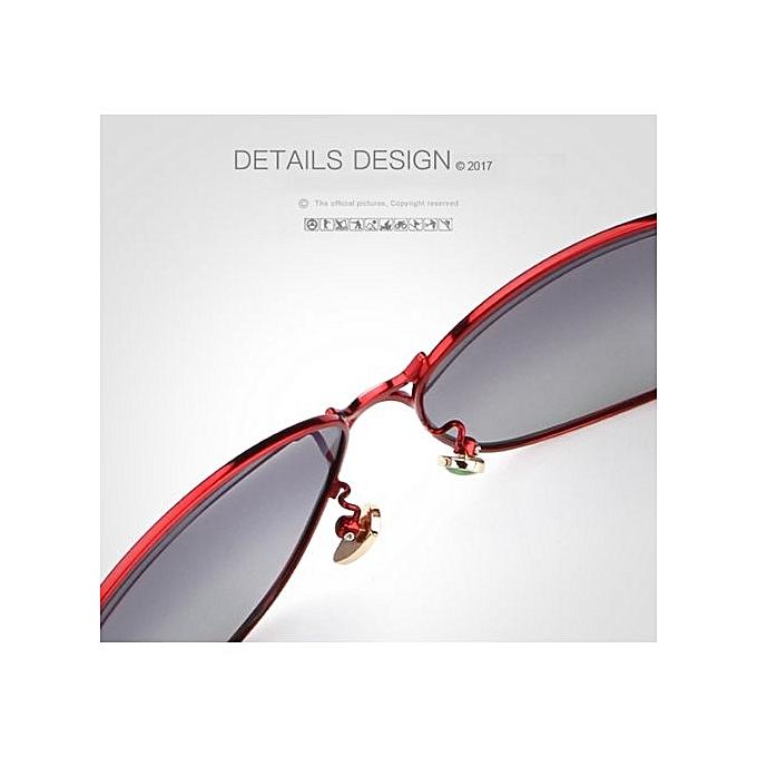... Refined Female Polarized Sunglasses Women Luxury Alloy Frame Eyewear  Retro Lady Oculos De Sol With Case 5dab2bee37