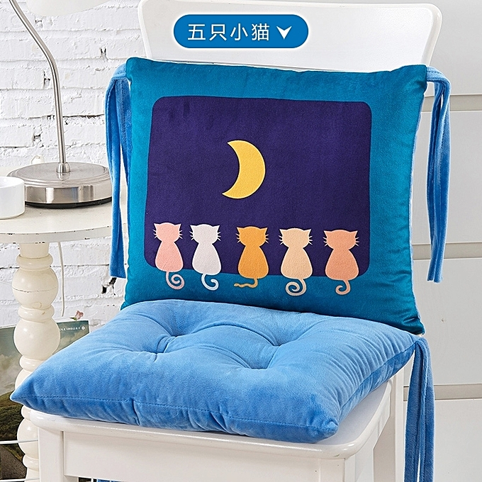 Swell 1Five Kittiesthe Cartoon Connects The Body Cushion Cushion Back Chair Cushion In The Integral Whole Office To Thicken A Student The Mat Meal Chair Best Image Libraries Counlowcountryjoecom