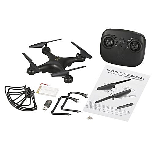 OR Utoghter 69601 20 Minutes Flying Quadcopter Altitude Hold One-key Return  Drone-Black…