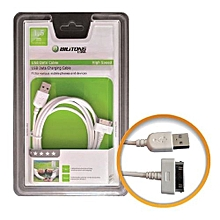 USB Cable For Tablet – 1.5m Bilitong – White