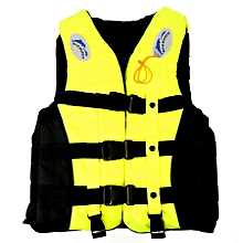 Drifting Swimming Fishing Life Jackets With Whistle For Children, Size:s(yellow)