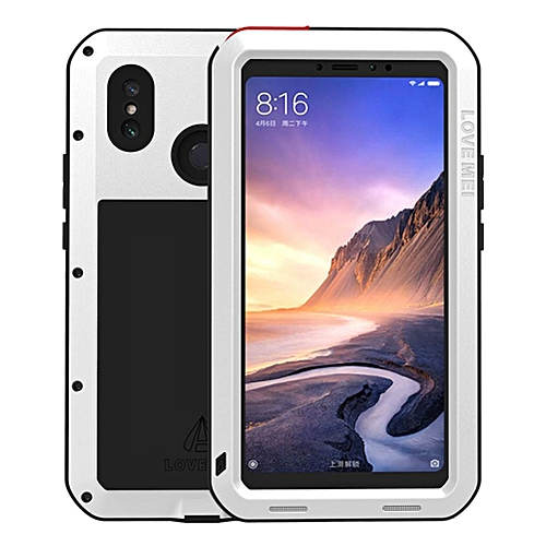 new style 734b1 42918 Xiaomi Mi Max 3 Waterproof Case, Shockproof Snowproof Dustproof Durable  Aluminum Metal Heavy Duty Full-body Protection Case Cover for Xiaomi Mi Max  3