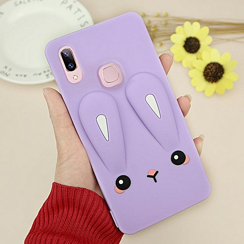 low priced b5131 df069 For Vivo V9 Case 3D Case Luxury Silicon 3D Printed Creative Cartoon Cute  Back Casing For Vivo V9 971719 Color-1