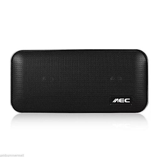 Palm-Sized Bluetooth Speaker & Power Bank 2-in-1 - Black