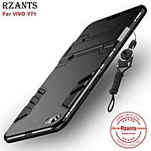 Rzants For VIVO Y71 Case [Armor Series] With Lanyard Shockproof Kickstand Hard Back Cover Case