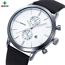The Best Selection  Funland New Fashion Luxury Men Japan Casual Leather Watches Waterproof Date Military Wristwatch Watches