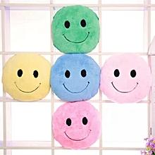 Cute Smiling Expression Plush Throw Pillow Soft Sofa Car Office Cushion Home Decor Gift