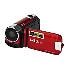 HD 1080P 16M 16X Digital Zoom Video Camcoer Camera DV -Red
