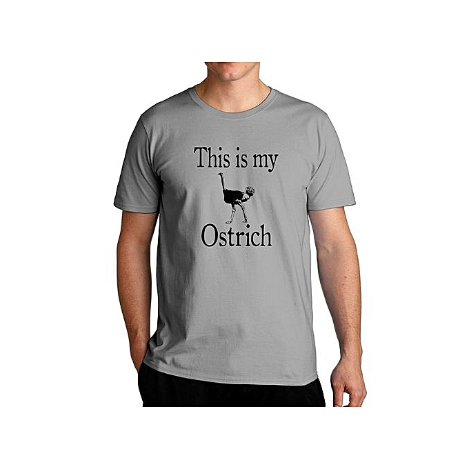 0b4e74315aa76 This Is My Ostrich Cool Fashion T-Shirt For Men