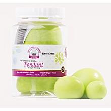 Fondant Icing Lime Green 250g