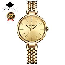 3b9261651fd WWOOR Women Quartz Watches Ladies Top Brand Crystal Luxury Female Wrist  Watch Girl Clock Relogio Feminino