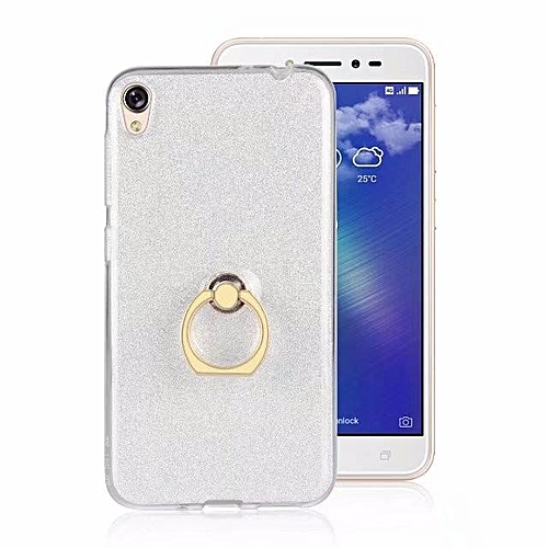 cheaper 31a1c 337bd Metal Buckle Ring TPU Phone Cover Case for Asus Zenfone Live ZB501KL