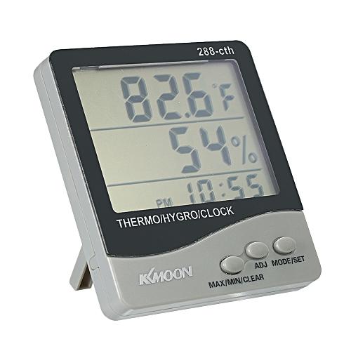 f2fa71e7bf19 KKmoon LCD → / 쭴 Digital Thermometer Hygrometer Temperature Humidity Meter  Alarm Clock