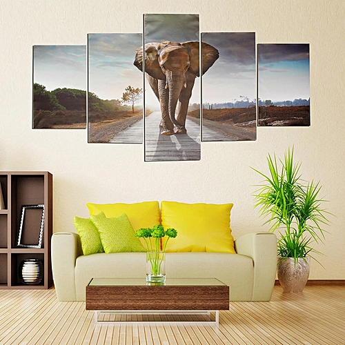 Generic Wall Painting Elephant Modern Abstract Art Prints