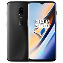 OnePlus 6T, 8GB+128GB, Dual Back Cameras, Face Unlock & Screen Fingerprint Identification, 6.41 inch 2.5D OxygenOS (Android 9.0 Pie) Qualcomm Snapdragon 845 Octa Core up to 2.8GHz, NFC, Bluetooth 5.0, Network: 4G(Midnight Black)