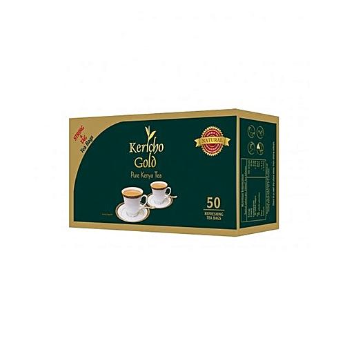 Round Tea Bag - 50's