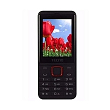 T371 - Dual SIM - Black/ Red
