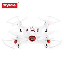 X20-S RC Drone RTF 2.4GHz 4CH 6-axis Gyro/One Key Takeoff/3D Flip - White