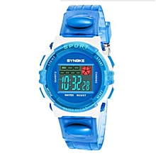 Children Watch kids Color Storm Touch Screen Boy's LED Watch Digital  blue