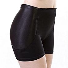 singedanWomen Lady Padded Butt Hip Enhancer Panties Shaper Underwear Lingerie M -Black