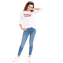 White Female Standard T-Shirt
