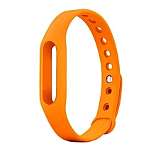 Wrist Band Replacement Bracelet For Xiaomi Band Orange
