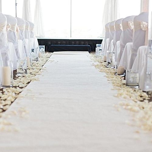 Aisle Runner For Wedding.33ftx4ft White Carpet Aisle Runner Wedding Party Event Decoration Mats Rugs