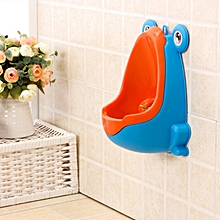 Cute Frog Children Potty Toilet Training Kids Urinal Boys Pee Trainer Bathroom