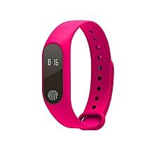 M2 Sport bracelet smart wristband bluetooth waterproof smartband(Pink)