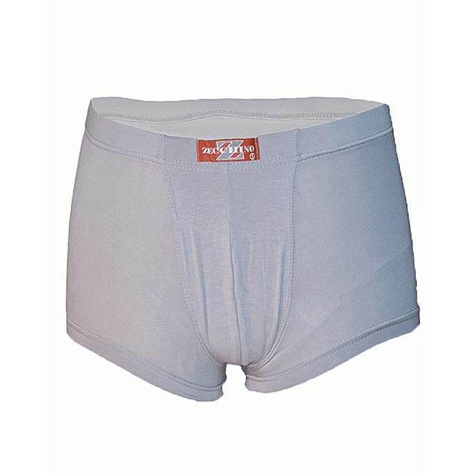 Light Grey Mens Boxer Shorts