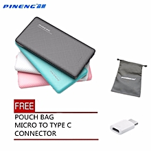 ( FREE POUCH AND TYPE-C CONNECTOR ) Pineng PN-958 PN958 PN 958 10000mah powerbank BGmall