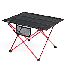 Xmund XD-FD2 Portable Folding Table Outdoor Ultralight Aluminum Camping Picnic Desk Max Load 15kg L