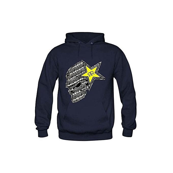 ea1a808feae Generic Rockstar Energy Print High Quality Hoodies Sweatshirts Autumn  Casual Men Long Sleeves Hoodies Clothing