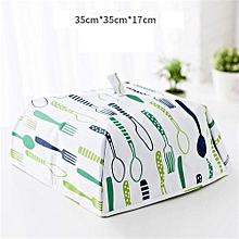 Food Cover Keep Warm Vegetable Cover Foldable Aluminum Foil Cover Dishes Insulation Utilidades Para Casa Kitchen Accessories