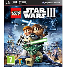 PS3 Game Lego Star Wars 3 Clone Wars