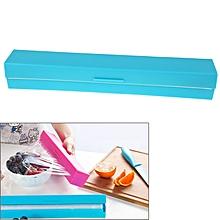 Plastic Wrap / Cling Film / Preservative Film Cutter(blue)