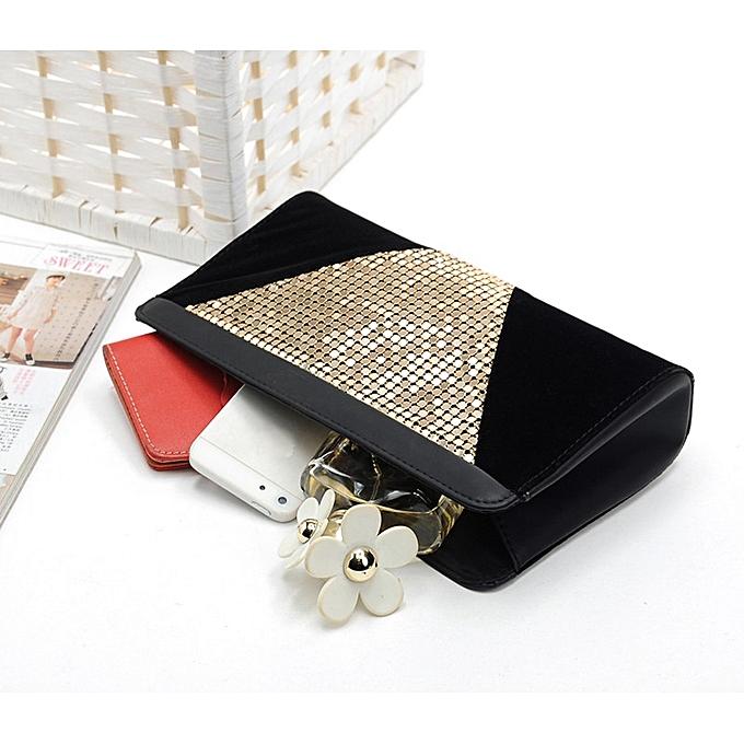 ... shioakp Fashion Women Clutch Dazzling Sequins Glitter Handbag Evening  Bag Purse ... 7a4a5923735c