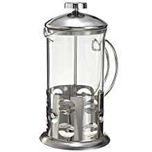 Coffee Press Plunge Glass Cafetiere French Filter 600ML