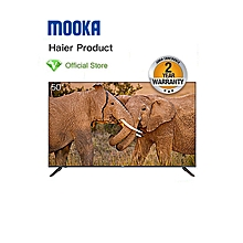 "Haier 50"" - UHD SMART TV - Black - black"