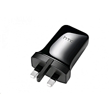 HTC 3 - Pin Charger & Sync Connect Cable - Black