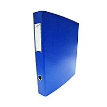 Alpha 2 Ring Binder - Navy Blue