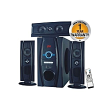 MP-3319 Multimedia 3.1 Subwoofer With Bluetooth - Black 8000W