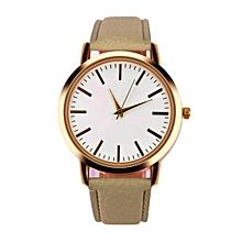 Women Men Band Analog Quartz Business Wrist Watch BG