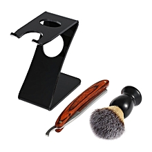 Men Shavers Shaving Razor Manual Shaving Brush Set Old-fashioned Beard Razor