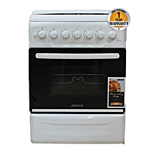 GC-F5640PX(W) - 4Gas - 50X60 - Gas Oven+Grill - White