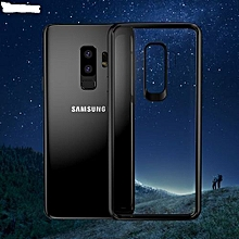 Samsung galaxy s9 plus TPU+PC Fashion Luxury Transparent Back Ultra thin Shockproof Case