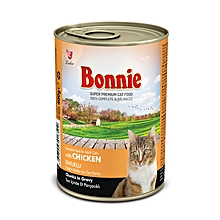 Adult Cat Food Canned Chicken (Chunks In Gravy) - 0.4Kg